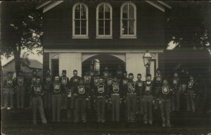 Wheatland IA Volunteer Fire Dept c1910 Real Photo Postcard