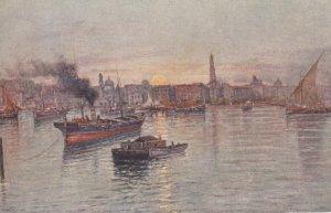 Napoli (Campania), Italy, 1900-1910s ; Il Porto