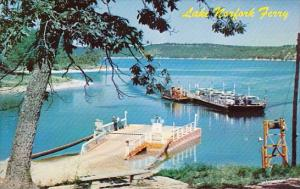 Lake Norfork Ferry Arkansas