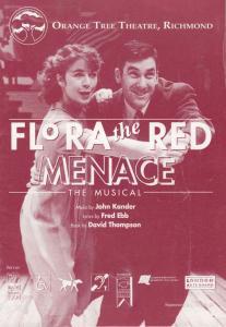 Elizabeth Mansfield of Heartbeat Flora The Red Menace Surrey Theatre Programme