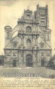 Eglise Saint Pierre Auxerre, France, Carte, 1919