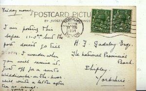 Genealogy Postcard - Gadsley - National Provincial Bank - Shipley, Yorks - 4102A