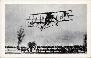 Charles Hamilton Aviator Flying First Aeroplane Seattle 1910 Unused Postcard E64