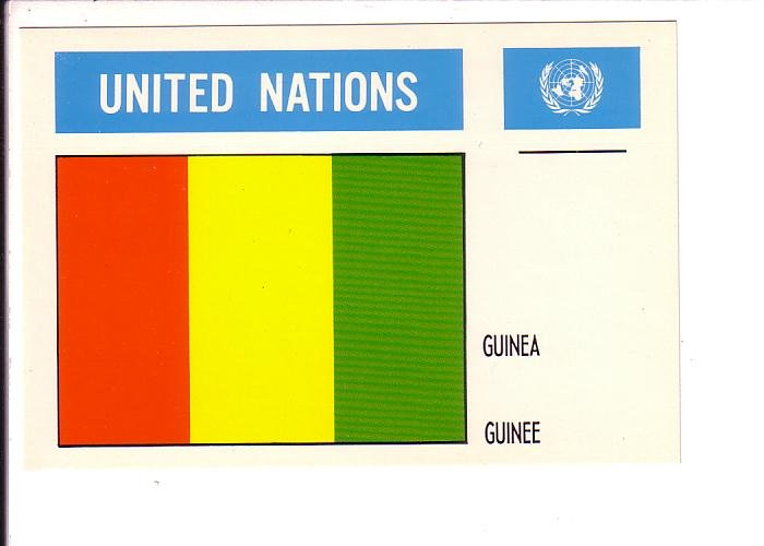 Guinea Flag, United Nations