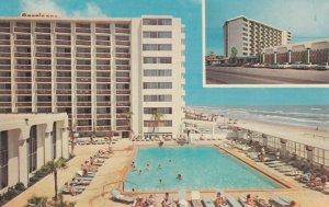 DAYTONA BEACH, Florida, 50-60s; Dodd's Americano Beach Lodge, Swimming Pool