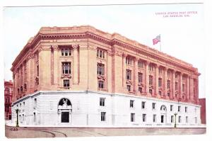 LOS ANGELES, California, 1900-1910's; United States Post Office