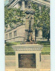 Divided-back MONUMENT SCENE Nashville Tennessee TN AE7819