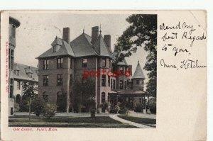 1907 FLINT MI Oak Grove , publ E.C. Kropp 1527, to Mrs. Kelley Gloversville NY