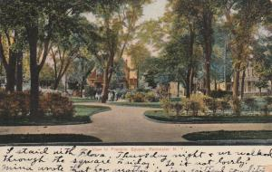 View in Franklin Square NY, Rochester, New York - pm 1909 - DB