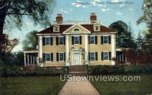 Longfellow's Home Cambridge MA 1908