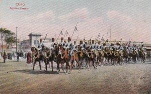 Egypt Cairo Egyptian Cavalries Military On Horseback sk1980a