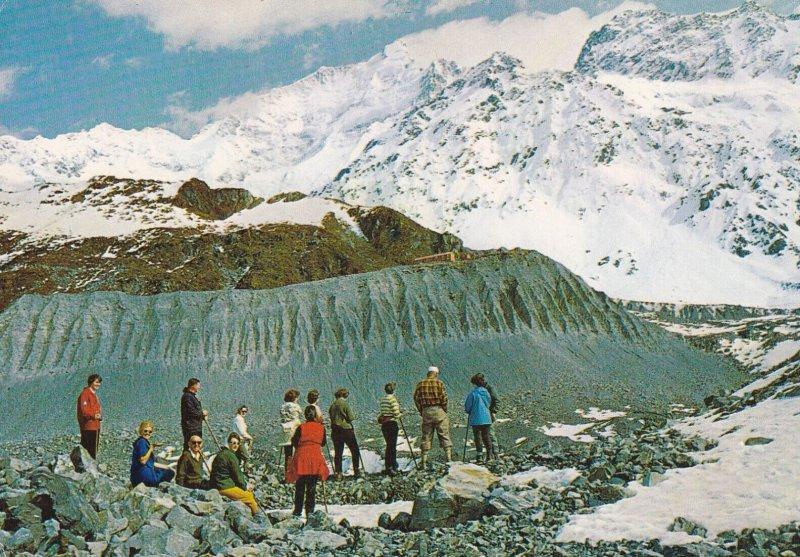 NEW ZEALAND, 1950-1970s; Tasman Glacier