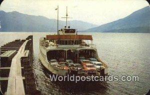 MV Anscomb Kootenay Bay Canada 1959