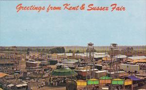 Amusement Area Kent & Sussex Fair Harrington Delaware