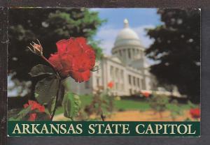 Arkansas State Capitol Postcard BIN