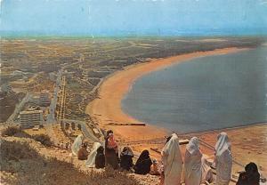 Morocco Le Maroc Pittoresque Agadir Vue de la Kasbah Panorama Beach
