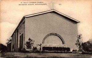 Massachusetts Arlington Heights St Paul's Lutheran Church