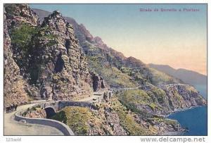 Italy - Strada da Sorrento a Positano 00s-10s