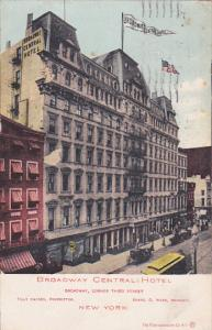 Broadway Central Hotel, New York City, New York, PU-1906