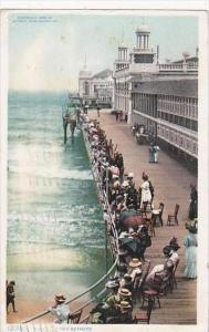 New Jersey Atlantic City Watching the Bathers 1909