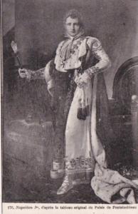 Napoleon 1st d'apres le tableau original du Palais de Fontainebleau