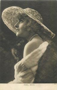 Movie actress Pearl White postcard