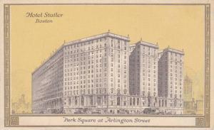 Hotel Statler, Park Square at Arlington Street, Boston, Massachusetts 30-40s
