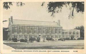 W/B Gymnasium Michigan State College East Lansing Michigan