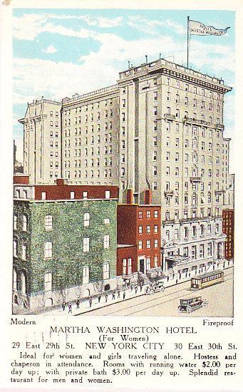 Martha Washington Hotel (For Women) NYC