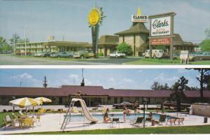 SANTEE, South Carolina, 1940-1960´s; Quality Inn Clark´s And Restaurant, Sw...