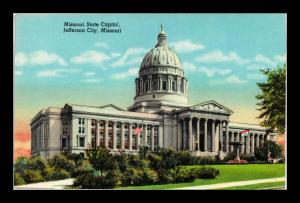 STATE CAPITOL BUILDING JEFFERSON CITY MISSOURI