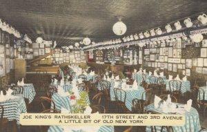 NEW YORK CITY , 30-40s ; Joe King's Rathskeller, 17th St. & 3rd Ave.