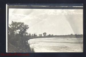 RPPC STAR NEBRASKA 1915 VINTAGE REAL PHOTO POSTCARD SUTHERLAND IOWA
