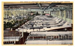 California  San Diego , Consolidated Aircraft Corp. Interior of Factory  show...