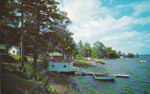 New Hampshire Walterboro Sun Deck & Water Ski Dock Point Breeze On Lake W...
