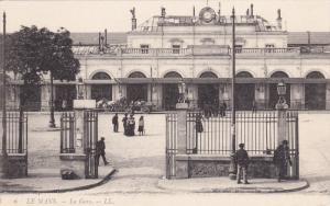 LE MANS, Sarthe, France, 1900-1910's; La Gare