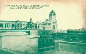 Belgium Exposition Universelle de Bruxelles 1910 D'Italie D´Uruguay 03.06