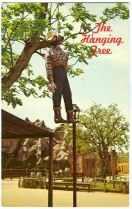 The Hanging Tree, Frontier City, Oklahoma, unused Postcard