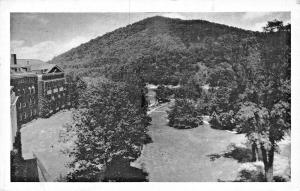 HOT SPRINGS VIRGINIA-THE HOMESTEAD-DEERLICK MOUNTAIN FROM TOWER-1945 PM POSTCARD