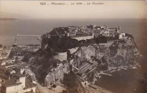 Monaco La Ville Le Rocher Real Photo