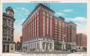 Pantlind Hotel at Campau Square, An entire city block of hospitality, GRAND R...