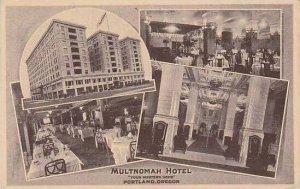 Oregon Portland Multnomah Hotel