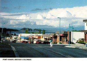 Canada Vancouver Island Port Hardy Street Scene