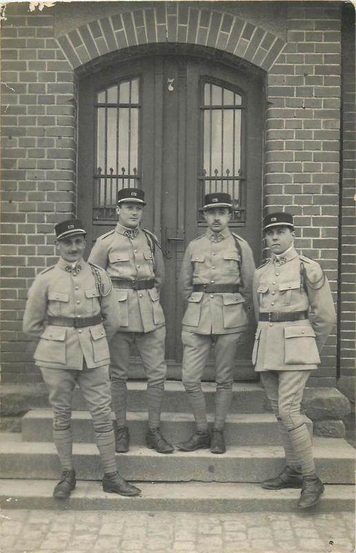 Photo PC Charles MONTAG Photographer BITCHE Camp France Army Regimental officers