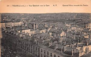 Tours France General View towards the Station Tours General View towards the ...