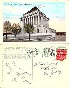 Temple of Scotish Rite, Washington D. C.