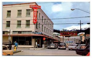 1970 Ingersoll Hotel, Ketchikan, AK Postcard
