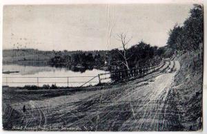 Road around Swan Lake, Stevensville NY