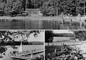 Poland Trzcianka Osrodek wypoczynkowy nad jeziorem Sarcz