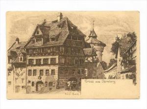Durer- Haus, Gruss Aus Nürnberg (Bavaria), Germany, 1900-1910s